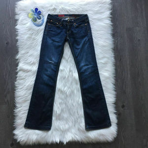 AG Adriano Goldschmied Bootcut Denim Jeans Size 25